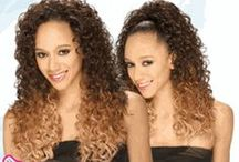 Freetress Equal Drawstring Fullcap Half Wig / GMBShair carrys Freetress Equal Drawstring Fullcaps, Double-Combed for Secure Hold, Drawstring-Equipped to wear as Ponytail, Complete Style in 1 Minute, Futura Curling Iron Safe.