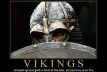 Viking territory✤✤ / Vikings Warriors and Sea Raiders! But also traders, merchants, explorers, settlers, and farmers. Even lawyers, holy men, and storytellers. The Vikings left their imprint on Western Civilization.. The Viking era spans from the late 8th century to the 11th. / by Katya ✴