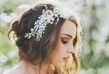 BRIDAL HAIR / Up dos, curls, highlights , long hair or short hair everything you could need for your wedding hair style