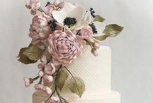WEDDING CAKES / cup cakes, wedding toppers, wedding cakes, cake flowers, ect