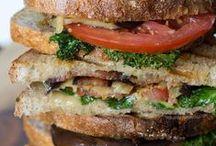 Sandwiches, Hamburgers, Pizzas, Tostas