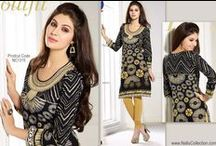 Kurtis / Indian Tunic Tops or #Kurtis are one of the most preferred casual wear apparel in India and Pakistan, you can find different variety of latest Kutis online from Nallucollection.com http://www.nallucollection.com/kurtis.html