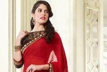 Sarees / Find exclusive collections of Designer Indian Sarees at Nallucollection. www.nallucollection.com/saree.html