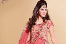 Salwar Kameez / Find exclusive collections of Indian Designer Salwar Kamzee or Anrkali Churidar Suits @ Nallucollection.com  http://www.nallucollection.com/salwar