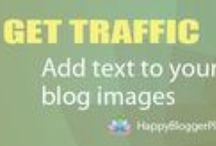 Blogging tips | Pinterest for bloggers / Blogging tips, blogging ideas, and blogging tutorials to increase blog traffic from Pinterest.