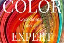 Color Inspiration / Color inspiration for website design, graphic design, social media designs, home decor and arts