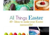 All Things Easter / Creative ideas, #DIY, #Easter crafts, #Easter traditions
