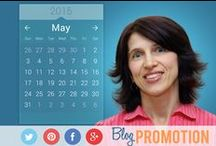 Blogging | Blog Promo 2015 / Increase blog traffic with Happy Blogger Plaza. Pin all your blog posts in 2015.