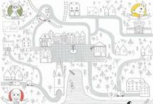 maze printables for kids / find the way or creative maze for kids
