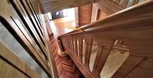 Grand solid Oak stairs by WoodenStairs Ltd
