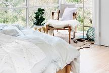 A Beautiful Bedroom / Awesome beds & beautiful bedrooms. / by Brittni Mehlhoff / Paper & Stitch