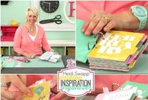 My Craft Channel Heidi Swapp Create to Remember Show / Heidi's show on MyCraftChannel.com will be PROJECT oriented, and full of quick tips and tricks, Heidi's favorite products and tools and feel super CAN DO! as a busy mom, Heidi knows how valuable your time is- not only valuable but LIMITED! She will bring you her very best ideas, and bang for your buck inspiration! Plus she promises, it will be FUN!! Join Heidi at MyCraftChannel.com every Wednesday for new and inspiring ideas.