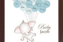 Baby Showers / Baby Shower Ideas / by Say Anything Design