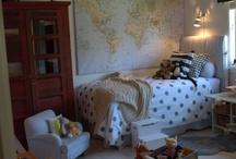 boy space / boy bedrooms / by Sarah Stuart