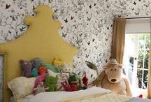 girl space / girls bedrooms / by Sarah Stuart