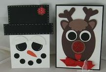Christmas/Winter Cards and Punch Art / by Anna Gradl Files