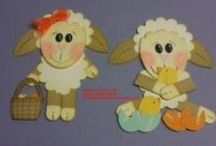 Easter and Spring Cards/Punch Art / by Anna Gradl Files