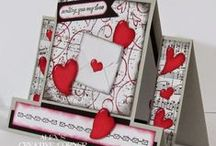 Love and Valentine's Day Cards/Punch Art