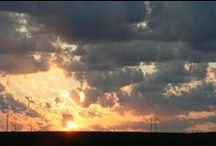 Texas Skies / The sky is big and breathtaking, every sunrise and sunset unique and inspiring. Wish I could share them all.  #TexasPanhandle
