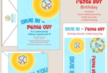 Cool Pool Party - Dive In Peace Out / by Wendi Warner Brooks