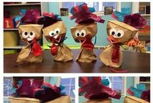 Thanksgiving Ideas / Thanksgiving themed lessons and activities for the primary classroom