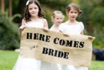 Cute Kiddos  / Adorable Children at Weddings / by Say Anything Design