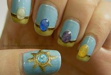 Nailed it - Nerd edition / Nerdy nail inspiration