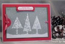 Patterned Pines - Stampin' Up