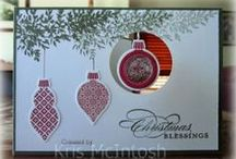 Ornament Keepsakes - Stampin' Up