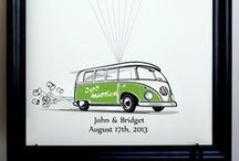VW Bus / by Say Anything Design
