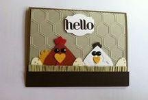 Bird Cards/Punch Art / by Anna Gradl Files