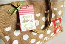 Teacher Gift Ideas / Great gift ideas for teachers