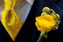 Yellow Themed Weddings / by Say Anything Design