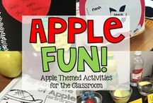 Apples / Apple themed activities for the primary classroom