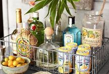 Bar Carts & Service Stations / by Elissa E