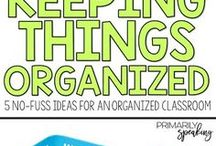 Organized at School / Inspiring ideas, helpful tips, and terrific tricks to help you maintain an organized classroom.