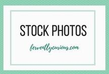 Find Stock Photos For Your Blog / Using images in your blog post is important. This board has the best blog posts that mention a lot of places to find stock photos for your blog.  Visit ferventlycurious.com for blogging tips and tricks