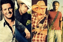 Country Music / Luke Bryan, Blame Shelton, Toby Keith, Tim McGraw, Carrie Underwood, and more.  / by Chelsey Moore