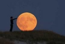 i love the moon, the moon loves me.