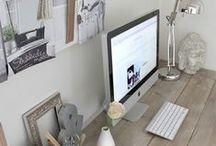 fun work space ideas / by Julia Belzetsky
