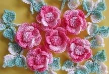 Crochet Flowers / by Robin