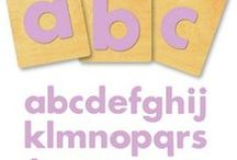 "Ellison Dies: Alphabet & Numbers / The IRC has a collection of Ellison Alphabet Dies; choose from a variety of fonts & sizes including 2"", 3"", 4"" & 5"". Pricing information for Ellison Die cut machine usage is available on the IRC web site."