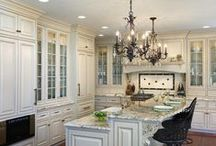 Dream Kitchens ♥ Dining / Dream #Kitchens & #Dining Spaces for Fabulous Cooking, Dining & Entertaining