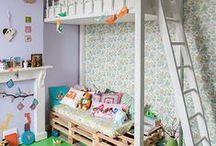 Kids Bedrooms & Playrooms! / Playrooms and Bedrooms for Kids! / by SocialMoms