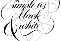 Dream in Black & White / Dream Designs in Black & White ~ I Love the Cool Crisp Chic Look of Black & White in Design ~ I Also Love Black & White with a Pop of Vibrant Color for Drama / by Michelle Sanchez ~ Dream Biz Coach ~ Pinning Power Profits