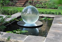 Water Features / A fountain or other water feature can bring serenity to any outdoor or indoor space.