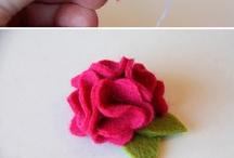 Felt and Ribbon Crafts / by Shelley Erickson Nicholson