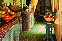 Mexican Tile Designs / The colors, shapes and forms of Mexican tile exhilarate all senses!
