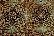 Moorish Tile Design / Moorish tile, also known as zellij/zillij, has been around and admired for hundreds of centuries.