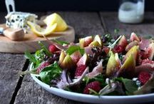 Food: Salads / Salads of all varieties!